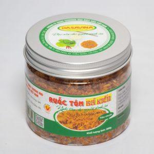 Hộp ruốc tôm tiêu chuẩn 200 gram thương hiệu Đặc sản Bá Kiến
