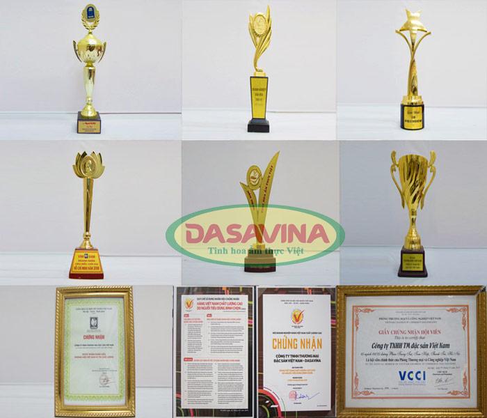 Một số giải thưởng danh giá công ty đạt được trong suốt quá trình hoạt động