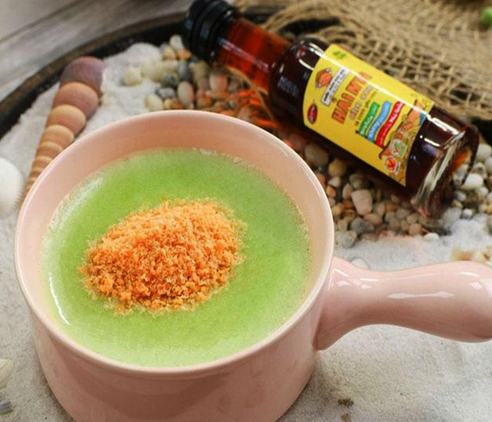 Cháo rau củ chà bông bổ dưỡng
