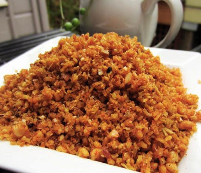 Món muối ruốc sả - Món ăn dân dã, thơm ngon